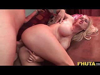 Fhuta dirty milf loves a fat cock up the ass