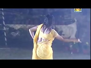 Bengali mommy fucking dance nude half nude wet in Saree