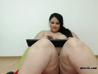 Ssbbw webcam mastrubation