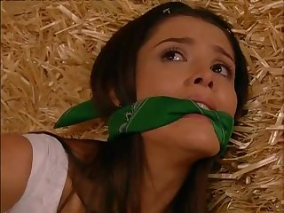 Tv damsel gagged and tied 25