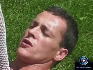 Outdoor fuck is what the nympho Maria belucci wants