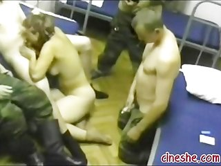 Army in action on hidden cam