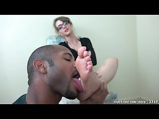 Sablique foot worship licking hd great pedi