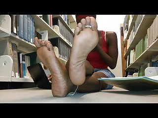 Feet in library