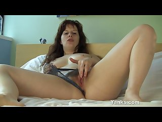 Small titted helena masturbating