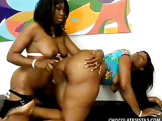 Angel eyes cherokee d ass chocolate sistas