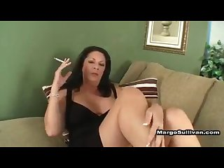 Margo lights another one for her perverted son enjoy