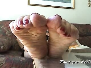 Amanda from point your soles amazing mature feet