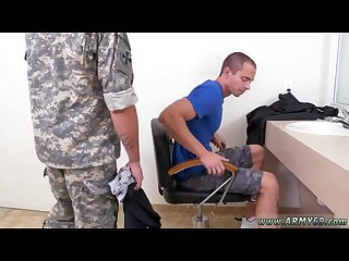 Army in homo gay sex movie extra training for the newbies