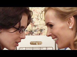 Tanya tate aiden Ashley scene 1 lesbian office seductions 5