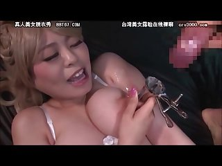 Japanese nipple fuck 3