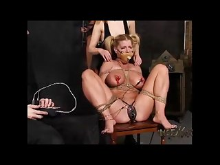 Hardcore bdsm with 3 whomen at Dp d farm