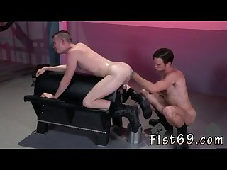 Gay boy gets his ass extreme fisted Xxx axel abysse crouches on a going