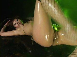 Micro bikini oily dance 2 scene 2 tomo ikeno