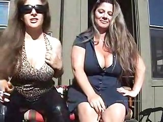 Milfs smoking