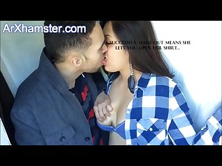 Passionate indian couple kissing from arxhamster