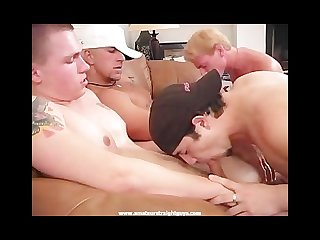 Amature straight guys sex party