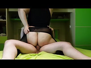 18 years old with big ass and great tits get fucked