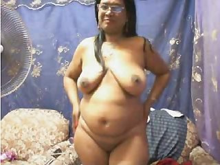 Desi milf on webcam