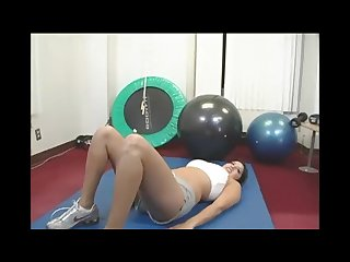 Sunny Leone Funny Workout In Gym Part 1