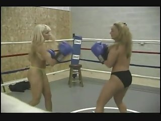 Rg 017 2 vs 1 topless boxing