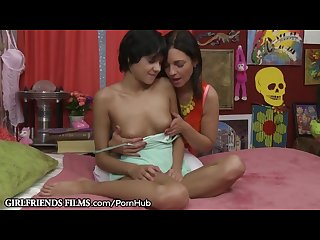 Milf mindi mink makes sure teen lesbian won t tell mom