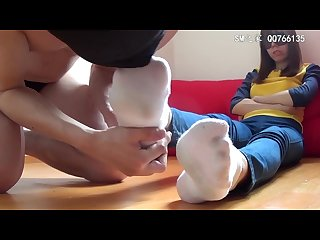 Korea foot goddess foot slave