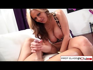 Firstclasspov Julia ann take a monster cock in her throat big boobs