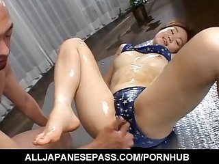 Erotic massage with mai mori