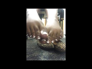 Mrs and mrs bordeaux sexy sweet french manicured toes to suck on