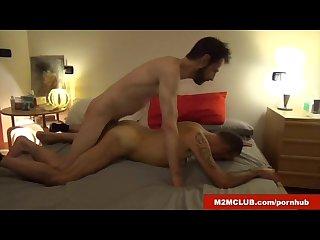 Horny italian dudes barebacking