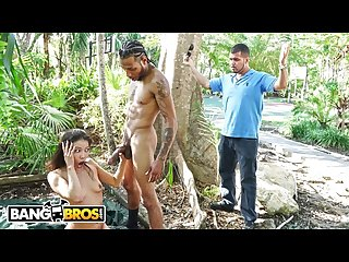 Bangbros asian babe kalina ryu takes on macana man s big black dick