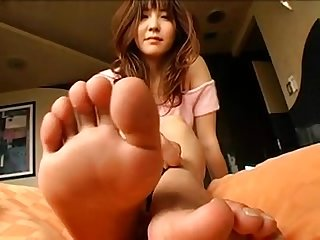 Mao kaede japanese foot fetish