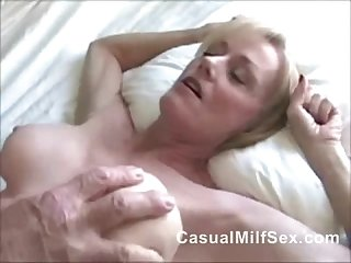 Mom from casualmilfsex dot com needs sex not his son