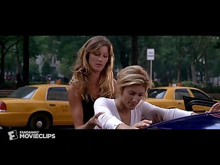 Gisele b ndchen smoothing and abusing jennifer esposito in the movie taxi
