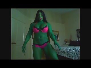 Laurie steele as she hulk