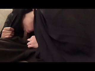 Arab Burqa Blowjob - Unwanted, Hidden cam and CIM