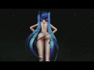 3d mmd hentai miku