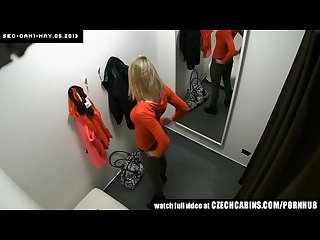 Voyeur two hidden security cams in changing room