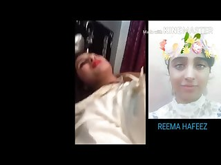 Reema hafeez pakistani girl with boyfriend honeymoon