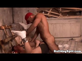 Young punk hardfucked after deepthroating