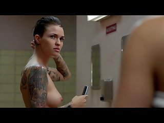 Ruby rose topless in orange is the new black