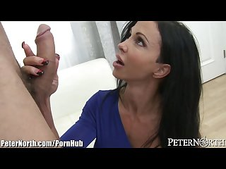 Huge tits milf jewels jade gets big bartender cock