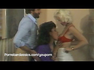 Classic porn stars seka and Vanessa del rio threesome fuck party