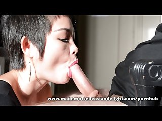 Asiandelight sensual blowjob