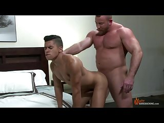 Shay michaels fucks armond rizzo in his hotel room gay daddy Twink sex