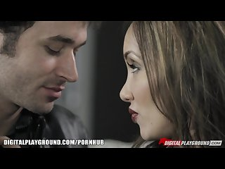 Katsuni seduces james dean with her see through top