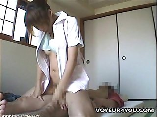 Asian fucking nurse voyeur sex
