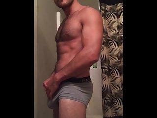 Daddy Underwear tease