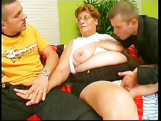 Horny grandma looks for lover scene 2
